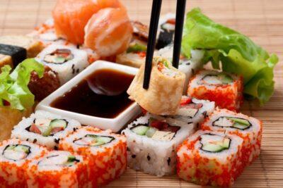 Как оформить заказ суши в Днепре