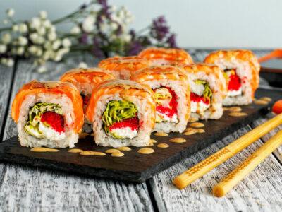 Как заказать суши с доставкой в Новосибирске