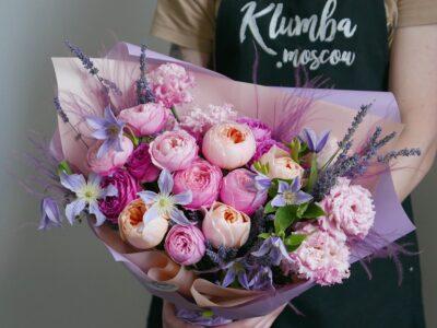 Где заказать букет пионовидных роз с доставкой по Москве