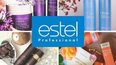 Косметика для волос от российского бренда Estel