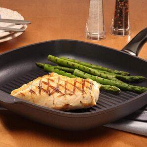 Как готовить на сковороде-гриль «БИОЛ»  с покрытием