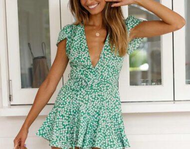 Выбираем стильное летнее платье
