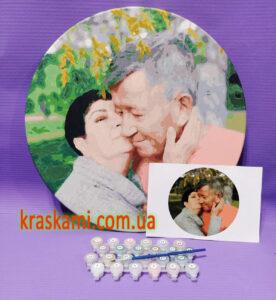 Картины по номерам по фото на круглом подрамнике