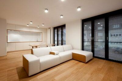 Достоинства точечного освещения в квартире